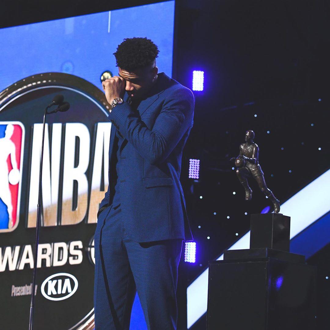 Яннис Адетокумбо – MVP НБА