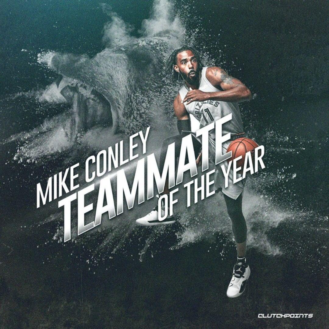 Майк Конли назван лучшим одноклубником в НБА