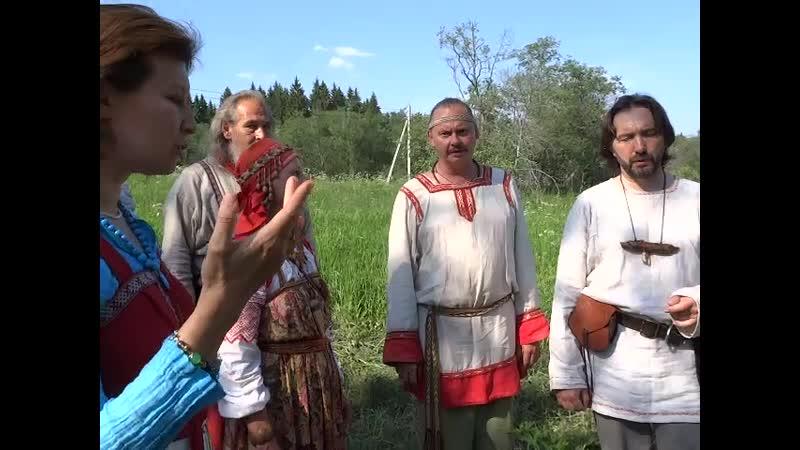Праздник Русалия, в общине Колосвет, д Поповка