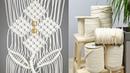 DIY Macramé Flower Wall Hanging | Easy Room Decor Tutorial