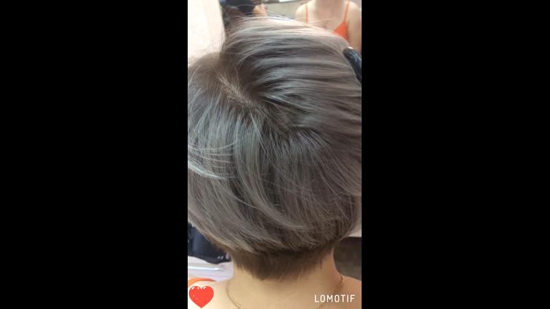 Пепельный блонд @sv_kurbanova_hair