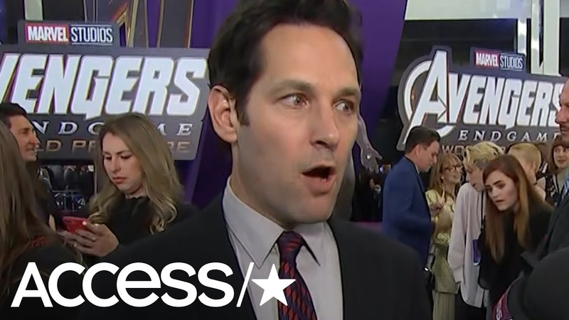 Paul Rudd Admits He's 'So Excited' To Watch 'Avengers: Endgame': 'It's Finally Happening'   Access