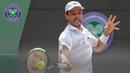 Roberto Bautista Agut vs Guido Pella Wimbledon 2019 quarter-final highlights