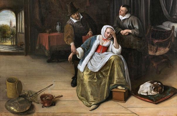 Грелка для ног На картинах Кирина ван Брекеленкама, Яна Вермеера, Яна Стена и ряда других голландских художников XVII века часто можно увидеть небольшой деревянный ящик, напоминающий подставку