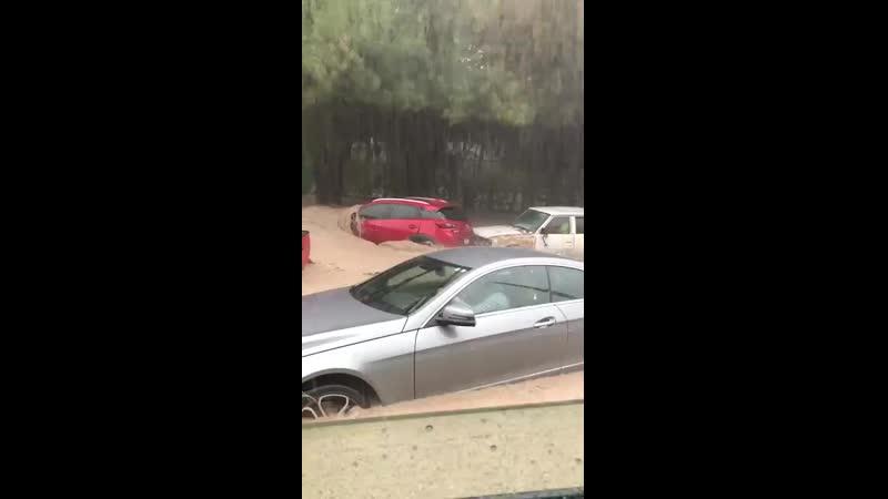 Fuertes lluvias han ocasionado inundaciones está tarde en Zapopan Jalisco México 15 07 2019 mp4