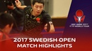 2017 Swedish Open Highlights: Xu Xin vs Tomokazu Harimoto (R16)