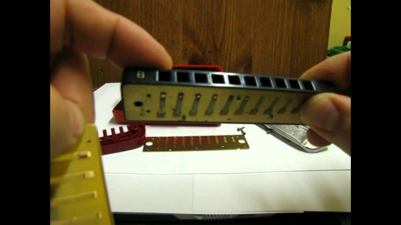 Harmonica Repair Basics Which way do the reed plates go
