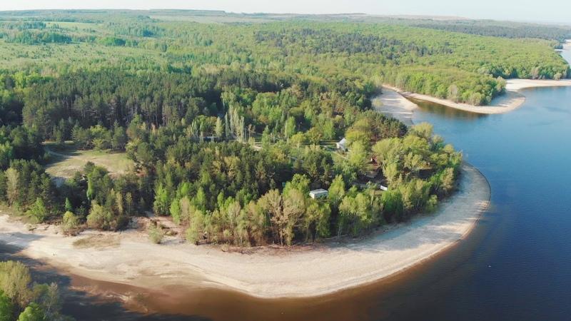 Россия. Река Уса. Видео с квадрокоптера I Russia. Usa river. Drone dji cinema.