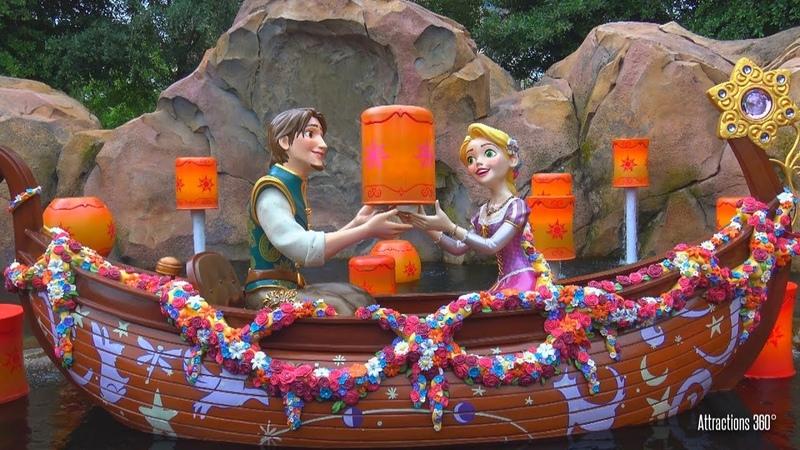 [4K] Shanghai Disneyland Boat Ride - Voyage to the Crystal Crystal Grotto