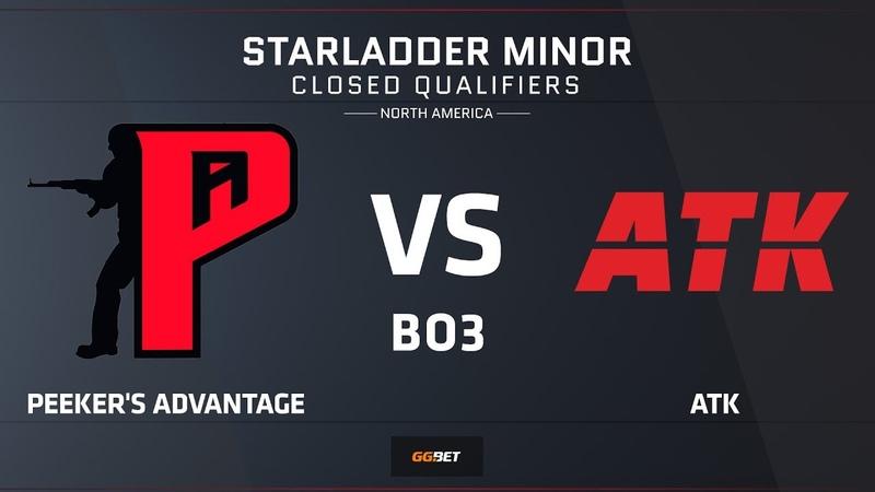 [RU] Peeker's Advantage vs ATK | Map 2 – Mirage | NA Minor Closed Qual – StarLadder Major