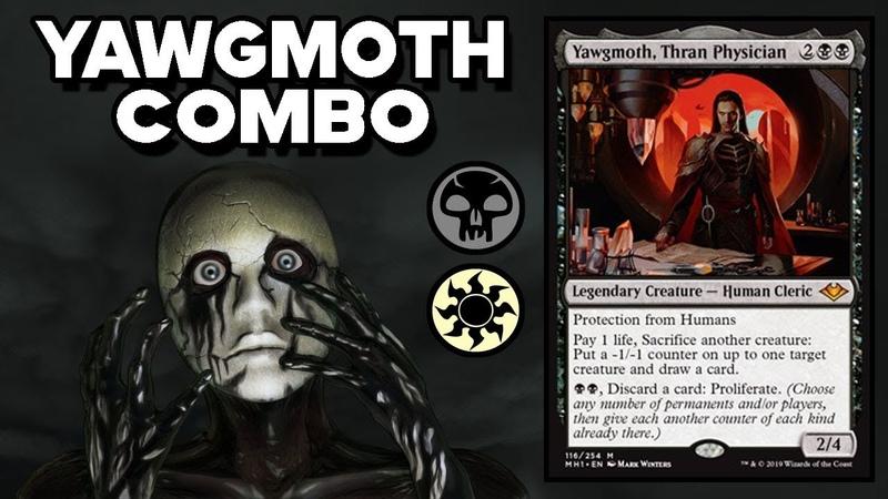 💀 Yawgmoth Solemnity Combo Town ► MODERN HORIZONS ◄ MTG Gameplay