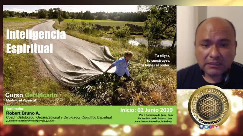 Curso Inteligencia Espiritual Junio 2019 Lima Perú