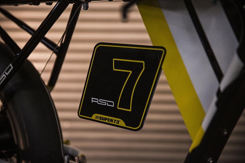RSD: электрический кафе рейсер Super73 Racer