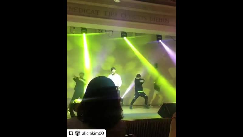 Ким Джон Кук выступает на The Raum Penthouse VIP Invitation Event. (22.05.2019)