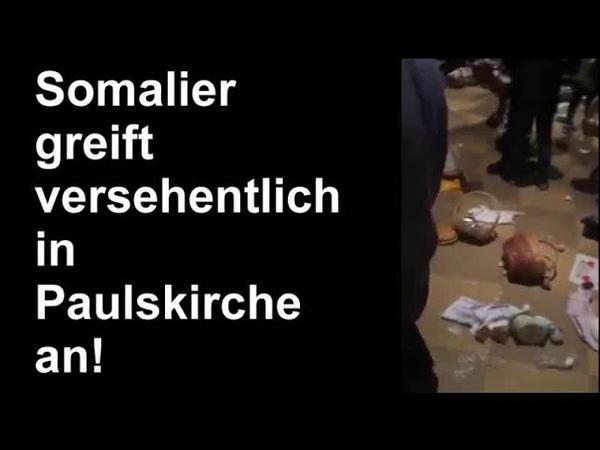 Somalier dringt Ostern unabsichtlich in St. Pauls-Kirche ein. (München)