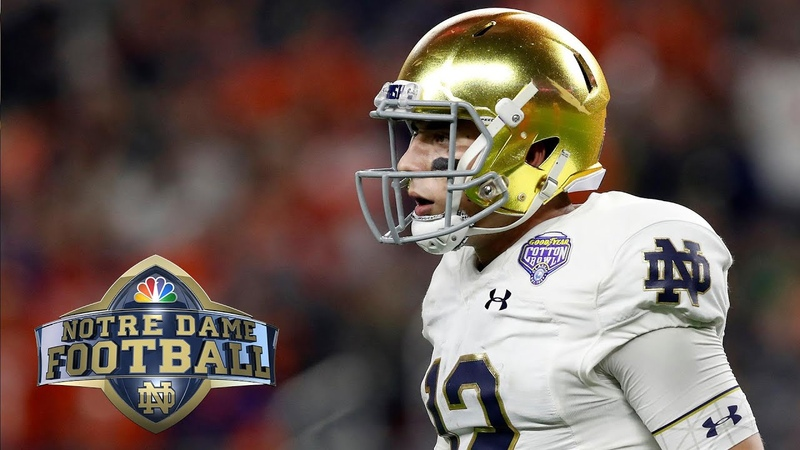 Notre Dame Blue Gold Game 2019 EXTENDED HIGHLIGHTS 4 13 19 NBC Sports