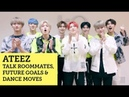 ATEEZ talk roommates, future goals and dance moves