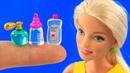 10 DIY Barbie Hacks! ~ Makeup Box, Fortnite-themed desk,watermelon slime! and more