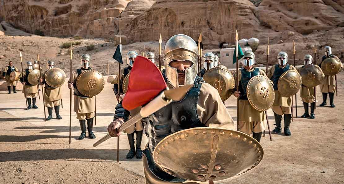 Набатейские воины