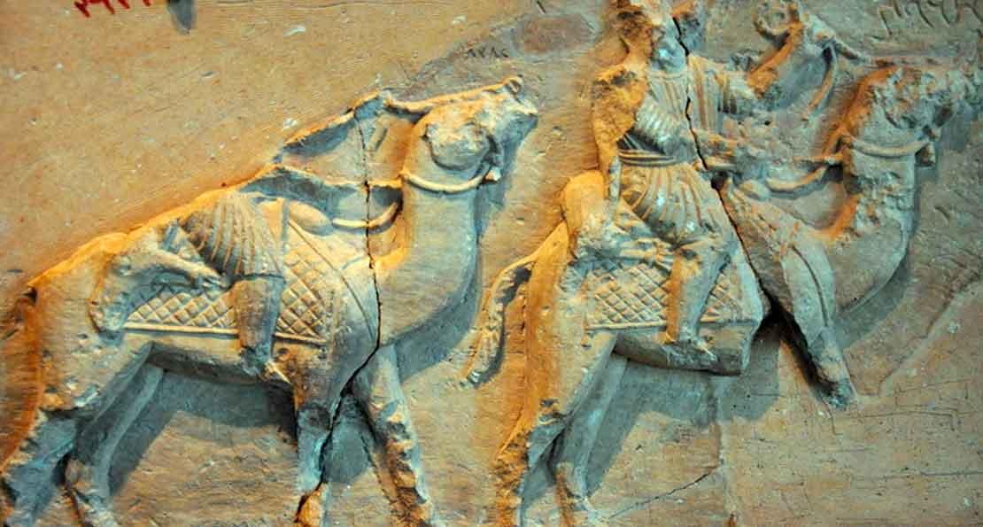 Верблюжья кавалерия арабов