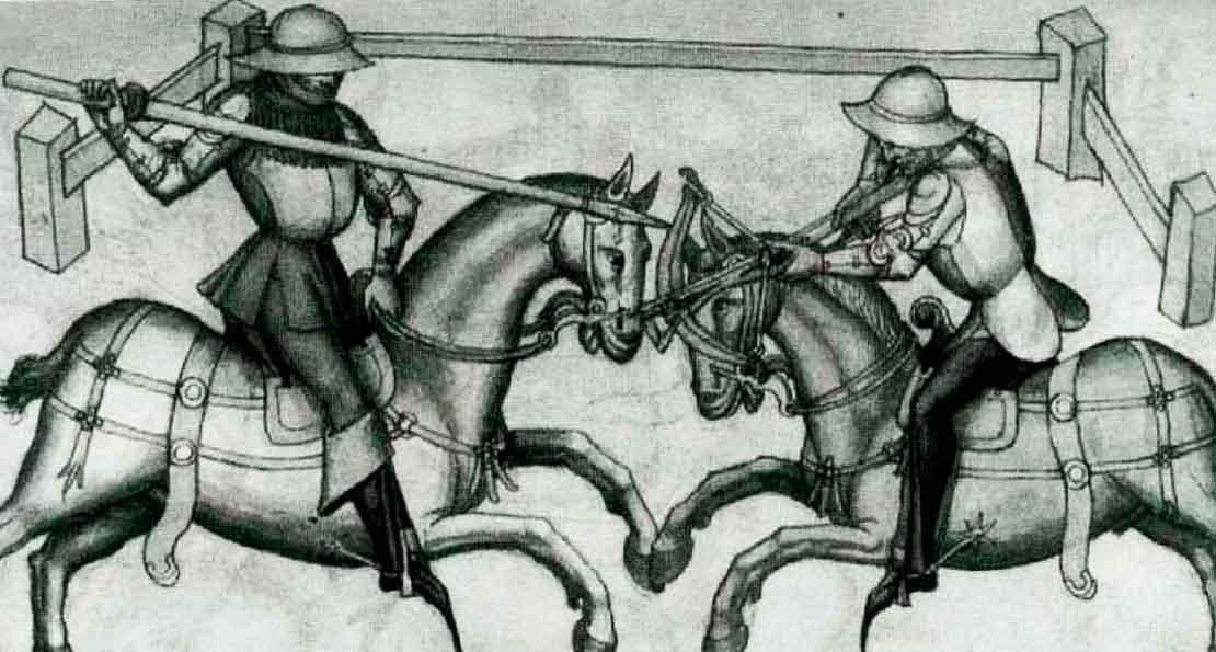 Бой кавалеристов