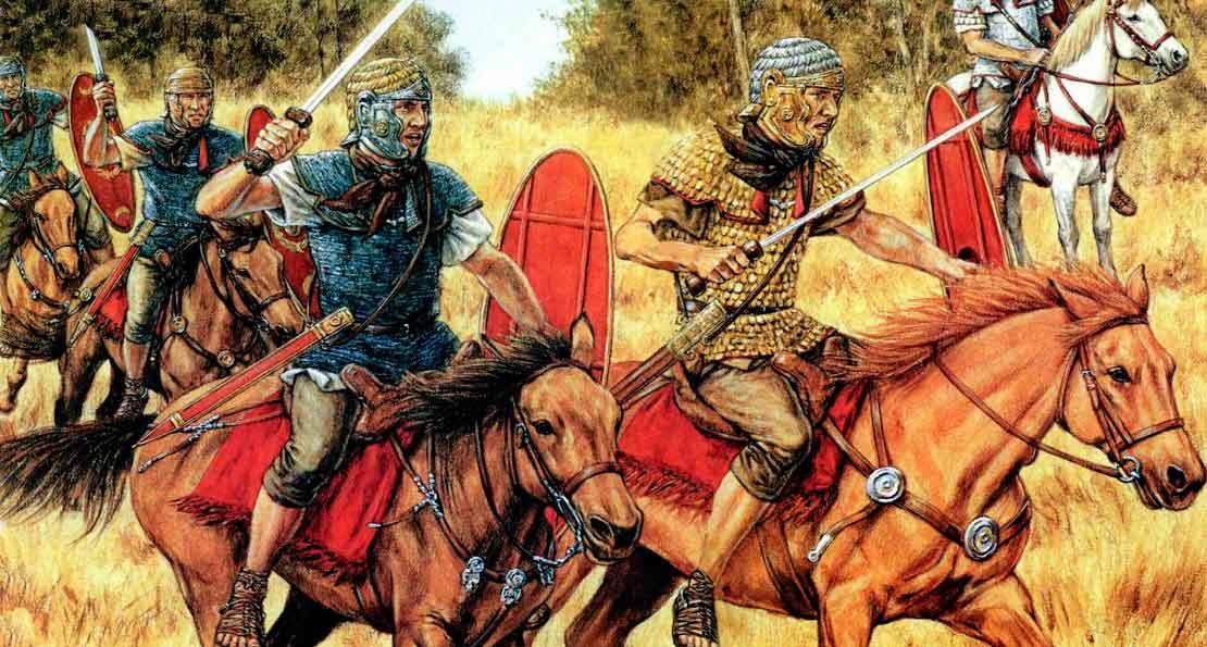 Германцы в коннице Рима