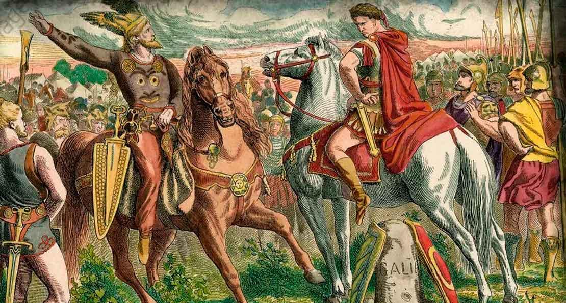Цезарь и германцы