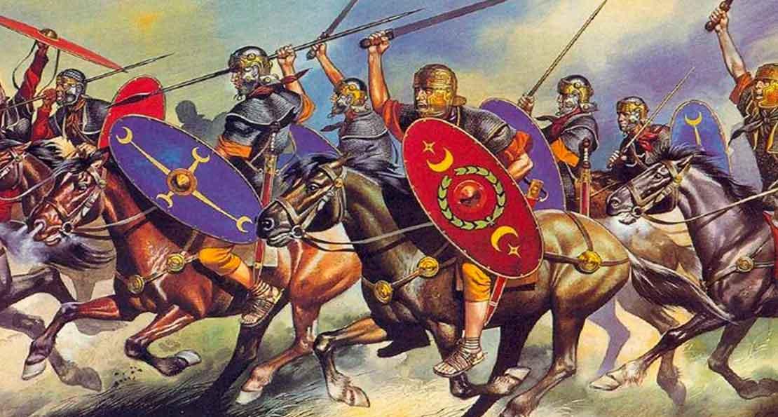 Конница римлян