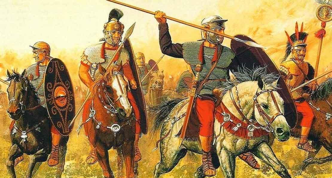 Атака конницы Рима