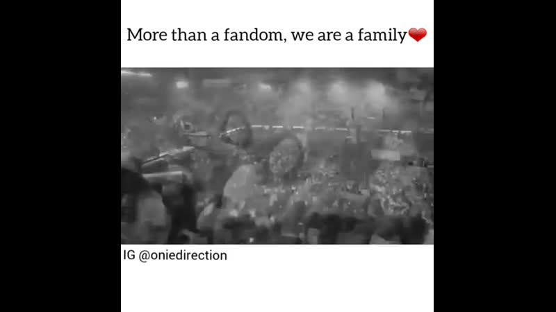 More than a fandom, we are family❤️