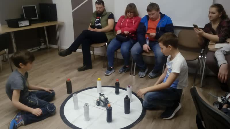 3 модуль робототехники Lego Mindstorms 1 попытка Чибурова Даниила и Швецова ВиктораВиктора