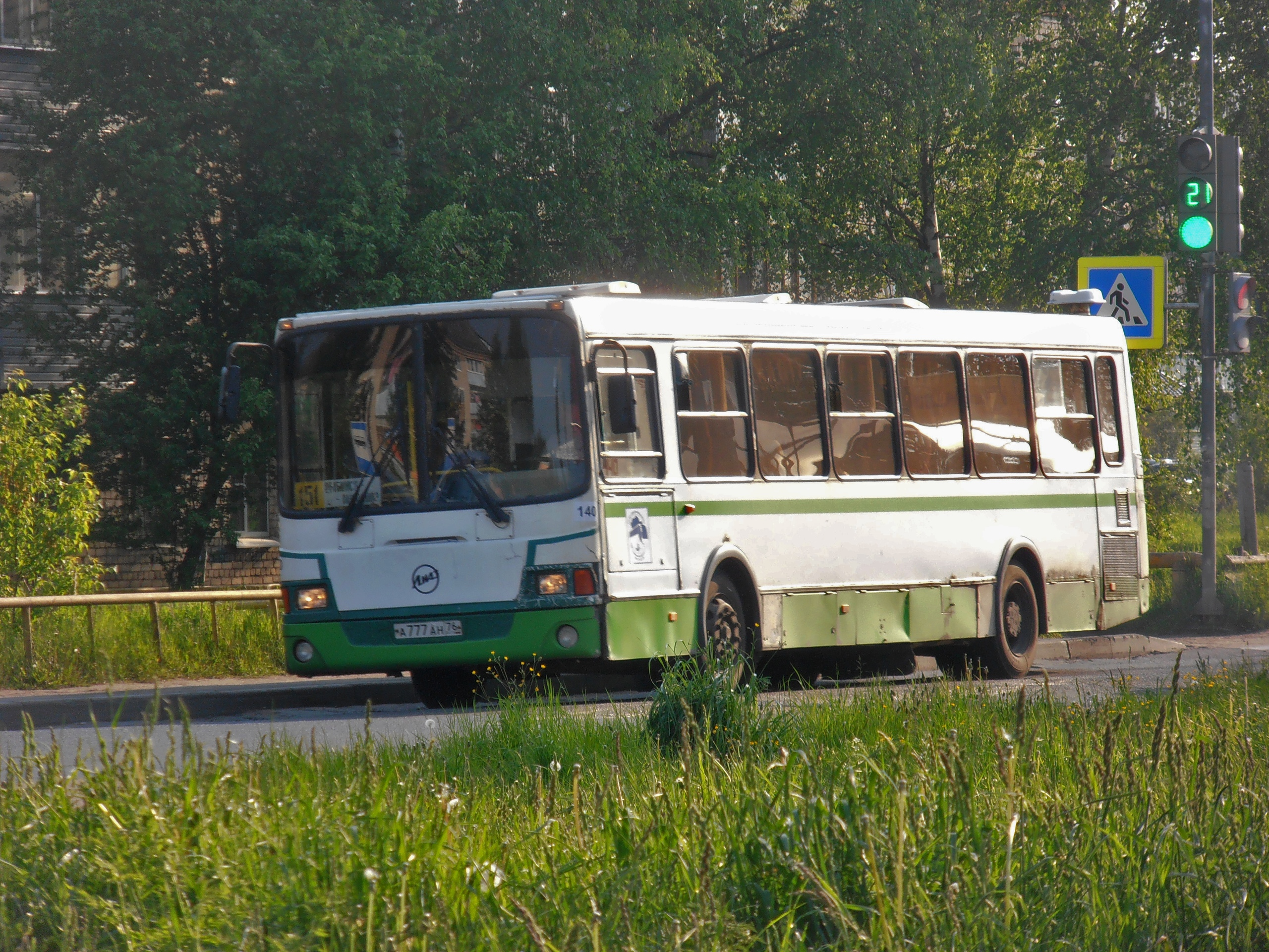Пригородный автобус №151