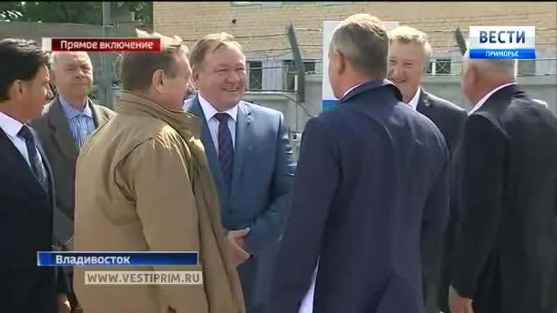 Во Владивостоке открыли тоннель имени Сталина