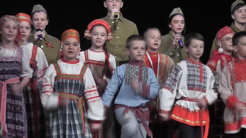 Всей деревней провожали. Вереск. Отчётный концерт 2019.