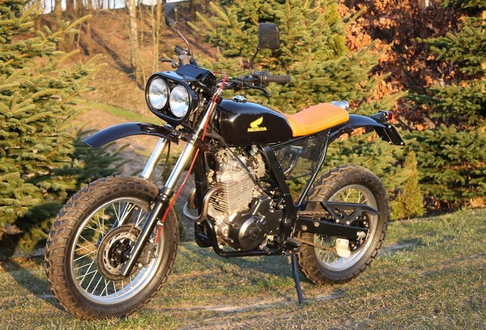 LL Motorcycles: скрэмблер Honda NX650