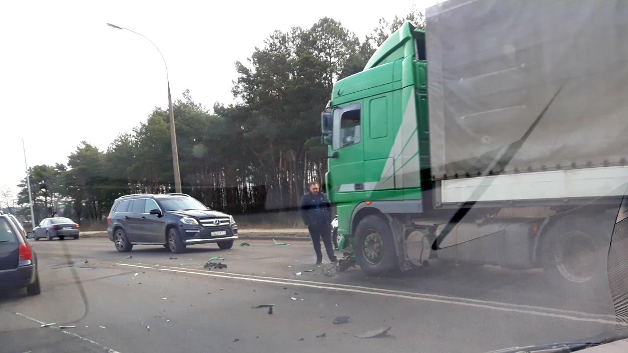 На ул. Л.Рябцева серьёзное ДТП, проезд затруднён