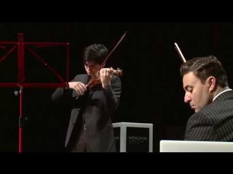 2018 Menuhin Competition | Maxim Vengerov Masterclass | Waxman's 'Carmen Fantasy'