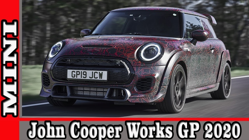 2020 MINI John Cooper Works GP Prototype | AUTO WORLD. RU