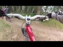 Учу ребенка первым навыкам как катать в горах.