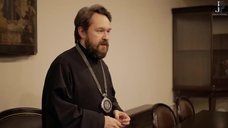 Встреча митрополита Волоколамского Илариона Алфеева с молодежью