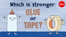 Which is stronger: Glue or tape? - Elizabeth Cox