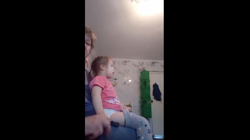 Дарина большая а бабушка больная
