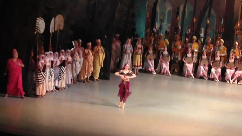 La Bayadere. Diana Vishneva. Few fragments bows. 07.06.2016