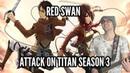 Attack on Titan Season 3 OP Red Swan 【Energetic Rock Cover】   Jonathan Parecki
