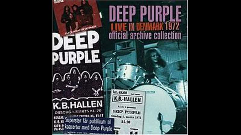 Deep Purple Space Truckin' Live in Denmark 1972