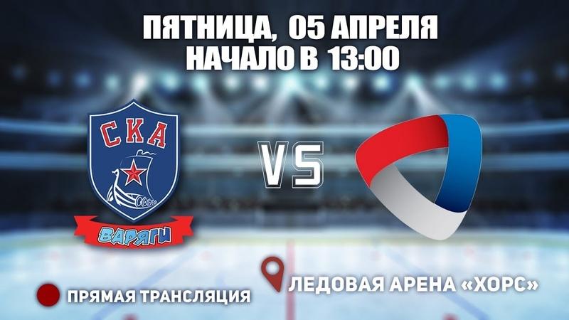 ПСЗФО 2003🥅 СКА-Варяги 03 🆚 Северсталь ⏰ 05 апреля, начало в 13:00 📍 Арена «ХОРС»