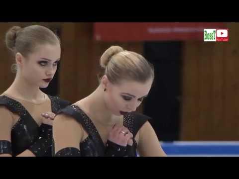 Team CRYSTAL ICE Junior Rus SP Synchro JWC 2019