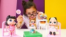Lol bebek videosu Asu Ela oyuncakları muayene ediyor En popüler kız oyuncakları