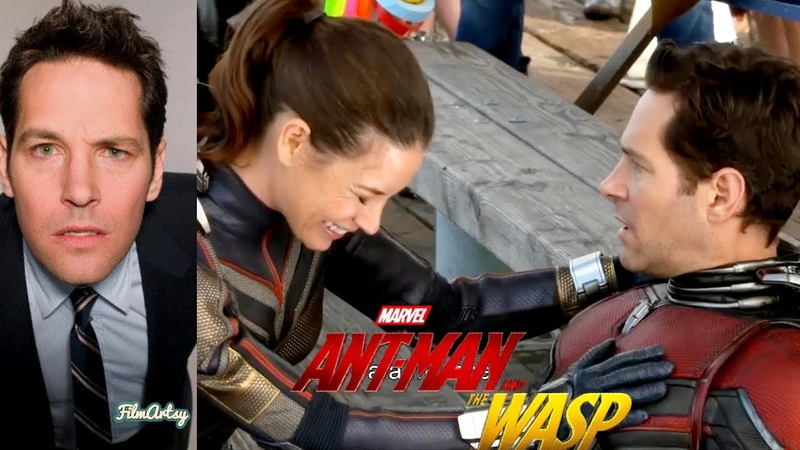 Paul Rudd Hilarious Bloopers and Gag Reel   Ant-Man The Wasp Special