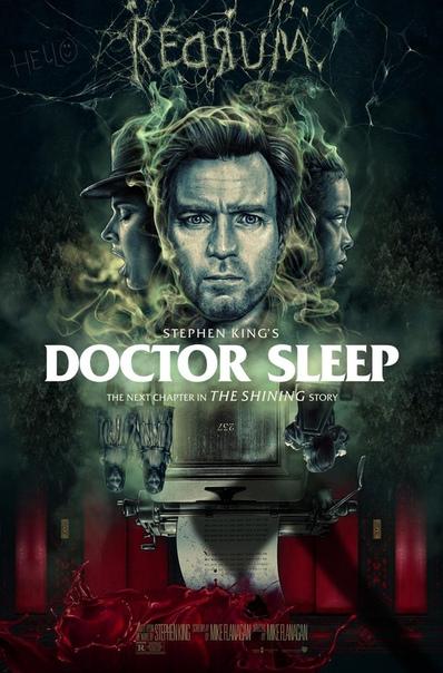 Роскошный фан-постер «Доктора Сна» от Chris Christodoulou
